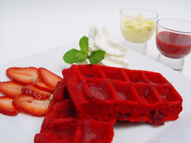 red waffles anyone?
