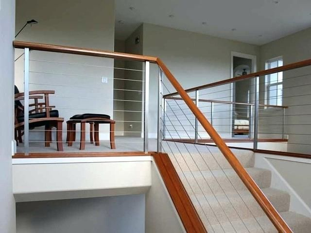 Modern Stair Railing Ultra Stainless Steel Railing System Modern
