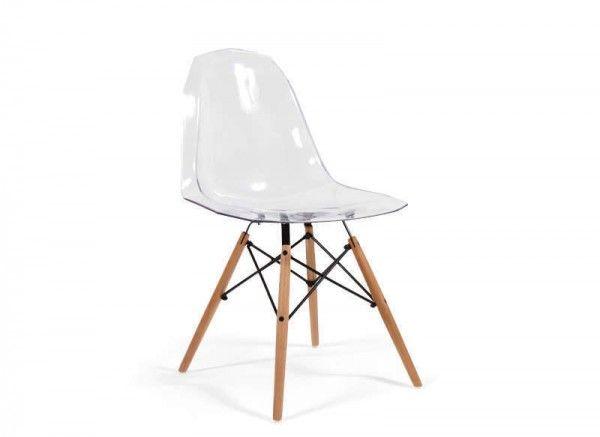 Chaise design transparente pas cher Everest  http://www.homelisty.com/chaise-design-pas-cher/