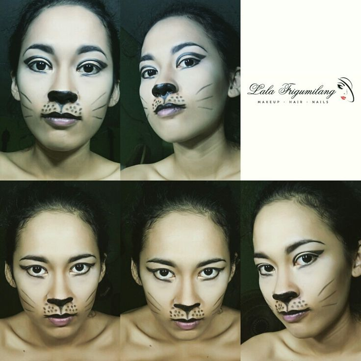 Cat face  makeup fantasy