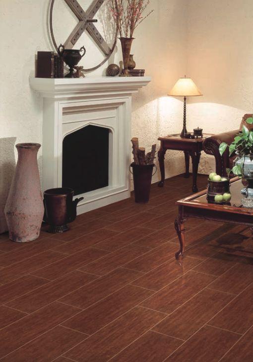 Interceramic Colonial Wood Mahogany Hd Ceramic