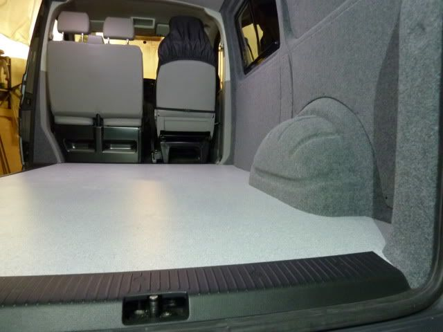 T5 Lining And Windows Inc Floor And Headlining Vw T4