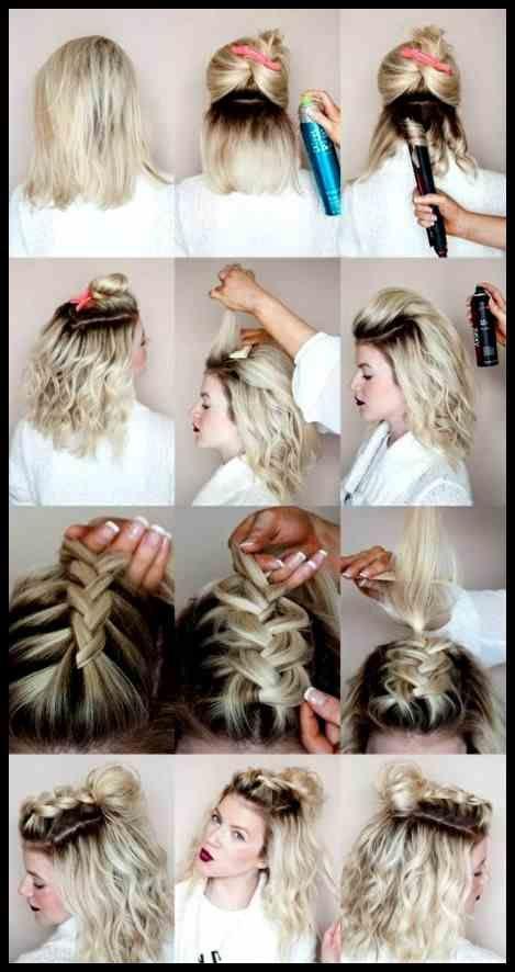 Schon Von Festliche Frisuren Kurze Haare Geflochten Flechten Finden