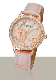 Stührling Original Fine Luxury TimepiecesAnchors Watches, Originals Fine, The Mars, Fine Luxury, Anchors Pink, Luxury Timepiece, Fun Colors, Pink Watches, Nautical Watches