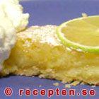 Citronpaj med lime