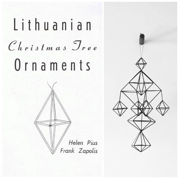 Lithuanian Christmas Ornaments #Lithuania #Baltic #decoration