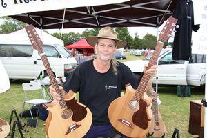 Auckland Folk Festival 2014, Photo taken for article in NZ Herald newspaper.
