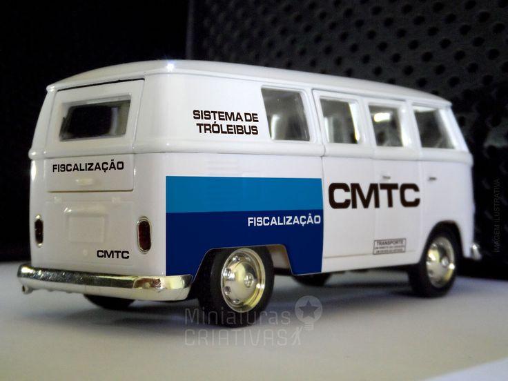 Miniatura Kombi CMTC