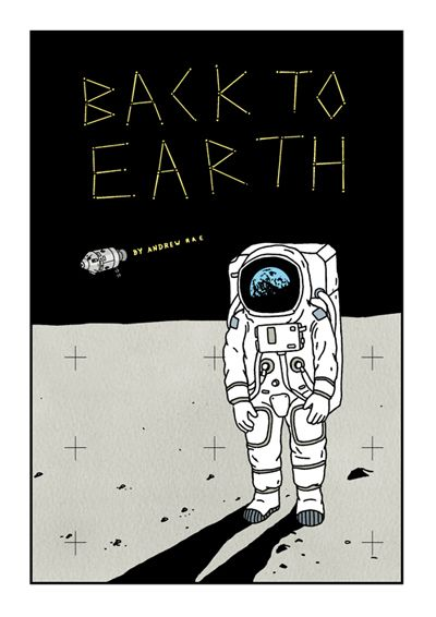 Back To Earth zine by Andrew Rae