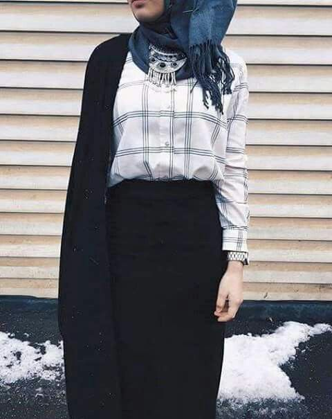 hijab, hijab fashion, and hijab style image