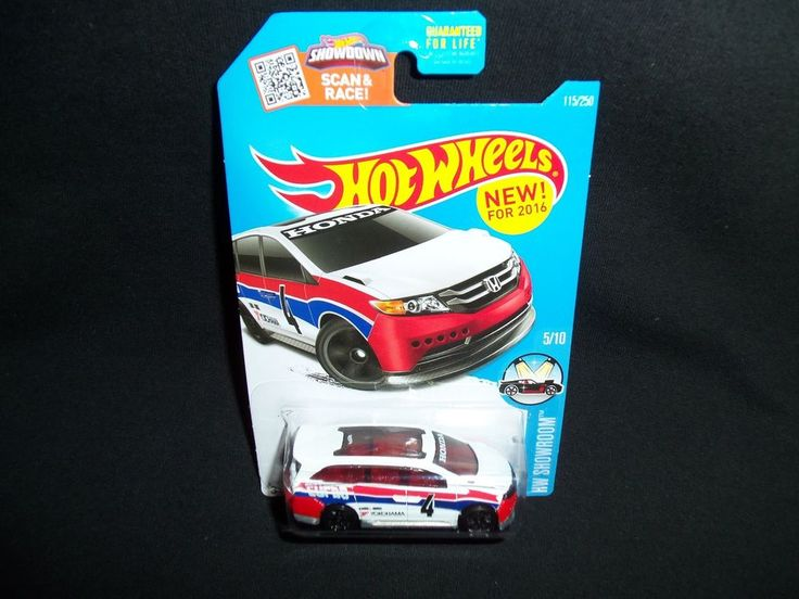 Hot Wheels Honda Odyssey Van New for 2016 HW Showroom 115/250 5/10 #HotWheels #Honda