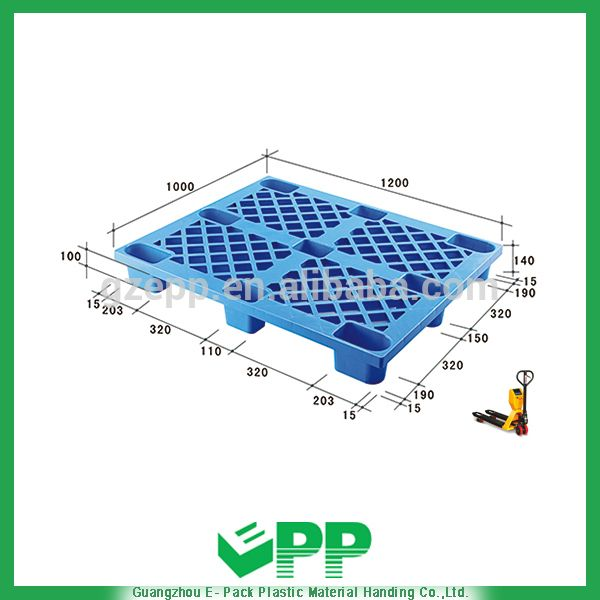 1200x1000 mixed euro plastic pallet for sale