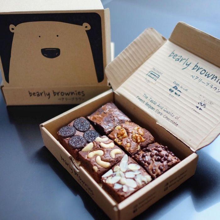 brownie packaging」の画像検索結果   Cajas para galletas, Empaques creativos, Empaques