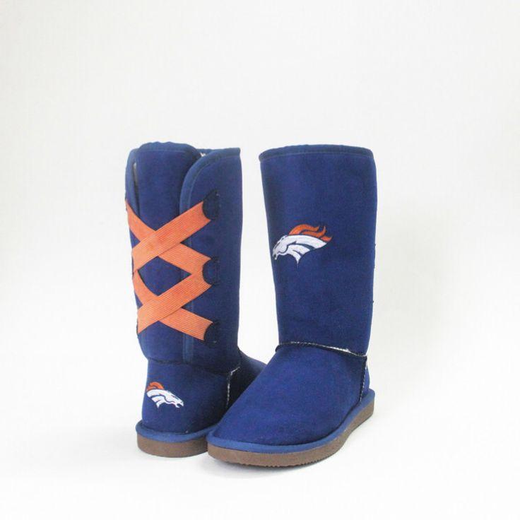 Denver Broncos Official NFL Cuce Team Color Boots