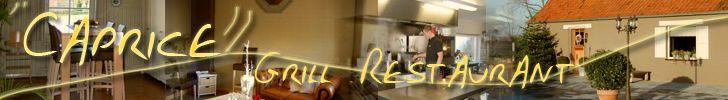 Grill – Restaurant Caprice verzorgt voor u lekkere vlees- en visgerechten in een mooi en gezellig kader met veel natuur rondom. Alle vleesgerechten worden op de grill bereid in het restaurant. Er is ook een gezellig zonneterras om er in de zomer rustig buiten te eten. Wij bieden u ook elke maand een nieuwe menu aan. We zijn gesloten op dinsdag, woensdag en zaterdagmiddag. Butswervestraat 9 9990 Maldegem 050 71 21 16 Wij aanvaarden enkel telefonische reservaties!