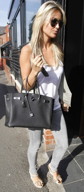 Alex Curran. I love her style, she may as well be style twins with Emma.