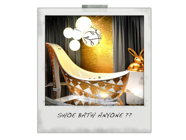 Shoe bath from Sicis