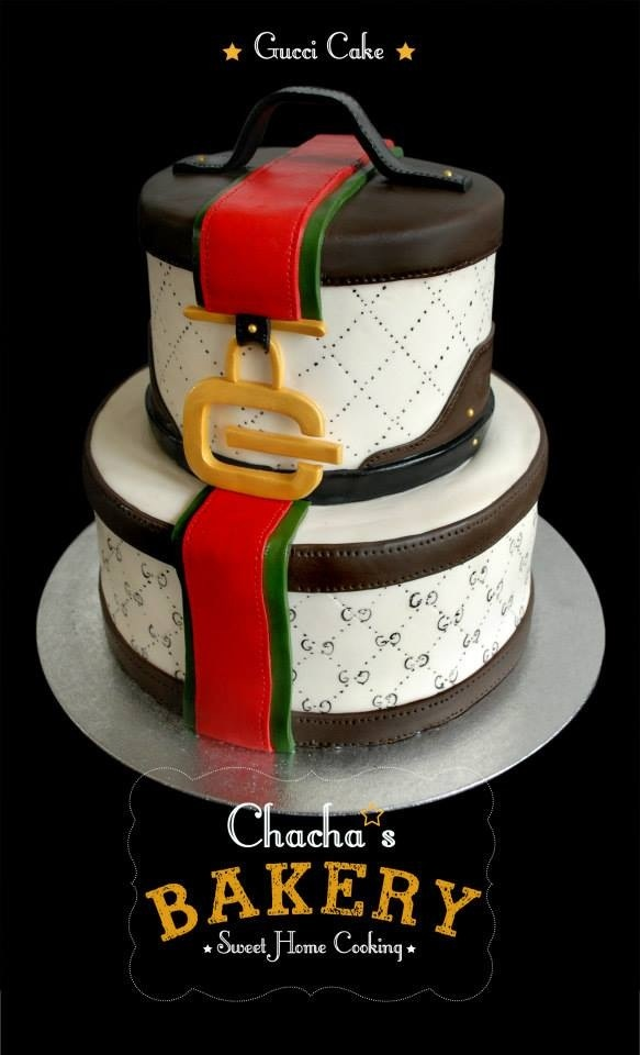 Gucci cake by chacha bakery