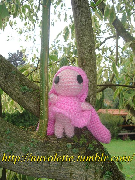 Atashi from Chobits! Come and see the other Amigurumi Handmade on my site: http://nuvolette.tumblr.com/