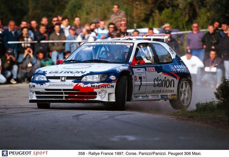 Peugeot 306 Maxi Rally Car, Panizzi in Corse -97.