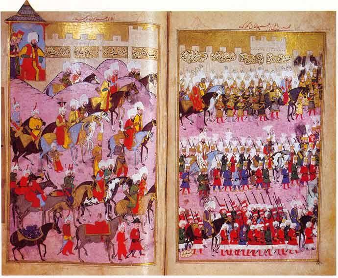 Janitscharen im Heer des Sultans/Topkapı Sarayı Müzesi, Istanbul