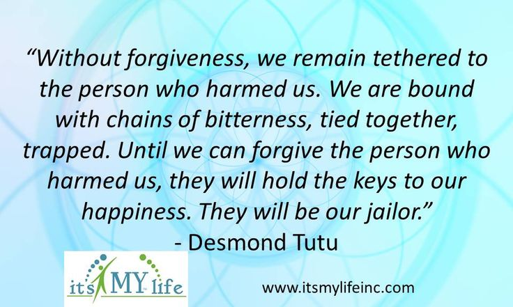 Who do you need to release today? Desmond Tutu Quote | Its My Life