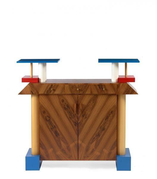 "Ettore SOTTSASS - meuble ""Istar"" Circa 1985"