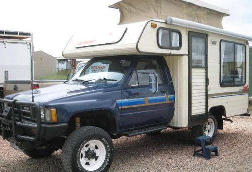 Toyota Class C Truck Camper