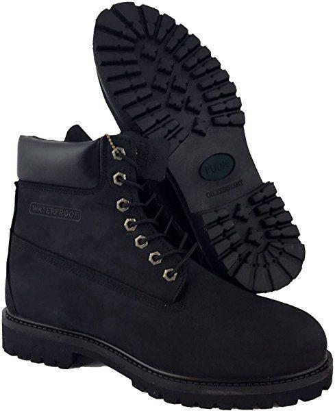 ad5129768869 Amazon.com  LABO Fuda Men s Leather Working Boot - 6062N-BLACK-10.5  Shoes