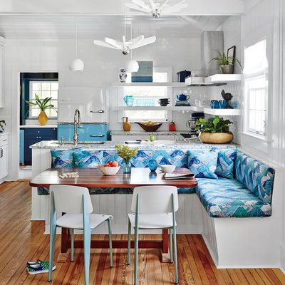 Our homes editor has named her favorite beach house rooms of the year! See her gorgeous roundup. | Coastalliving.com