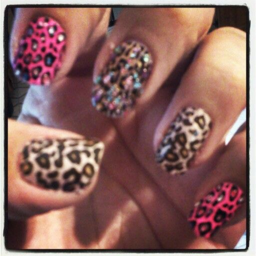 Another cheetah print on my nails