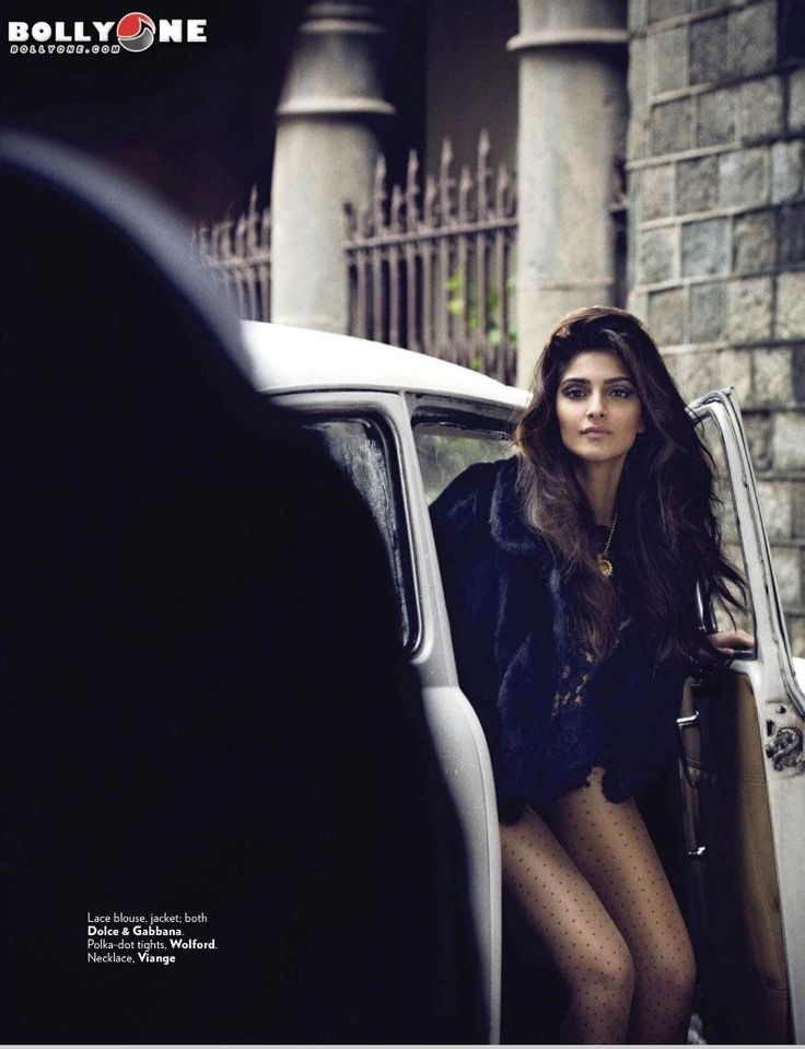 Vogue Magazine September 2014 Sonam Kapoor HQ Pictures
