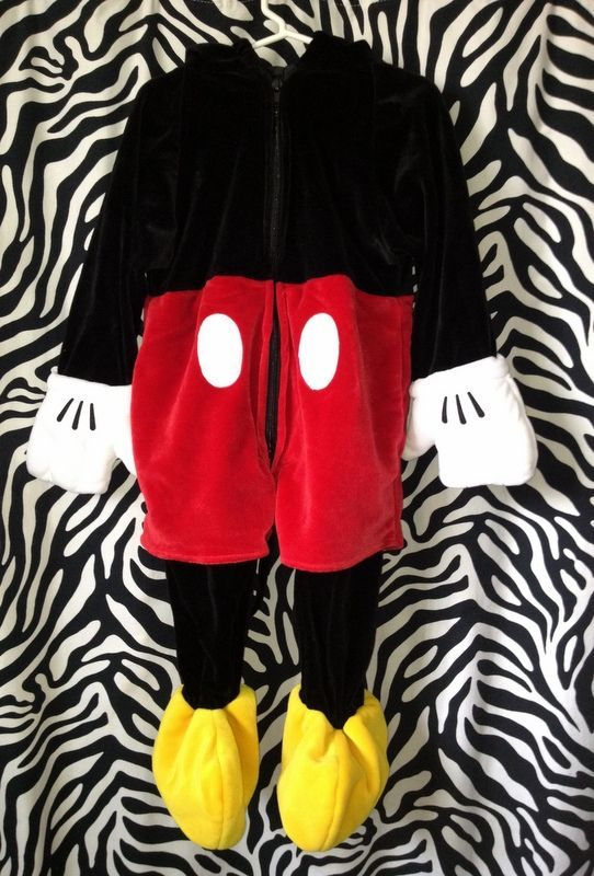 toddler mickey mouse costume | Disney Store Mickey Mouse Deluxe Plush Costume Infant Toddler Boy 18 ...