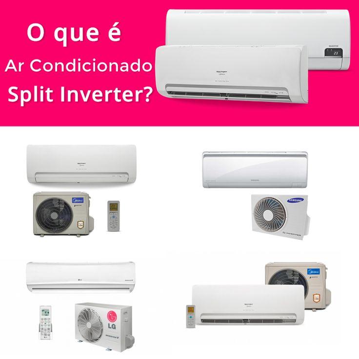 O que é ar condicionado Split Inverter?