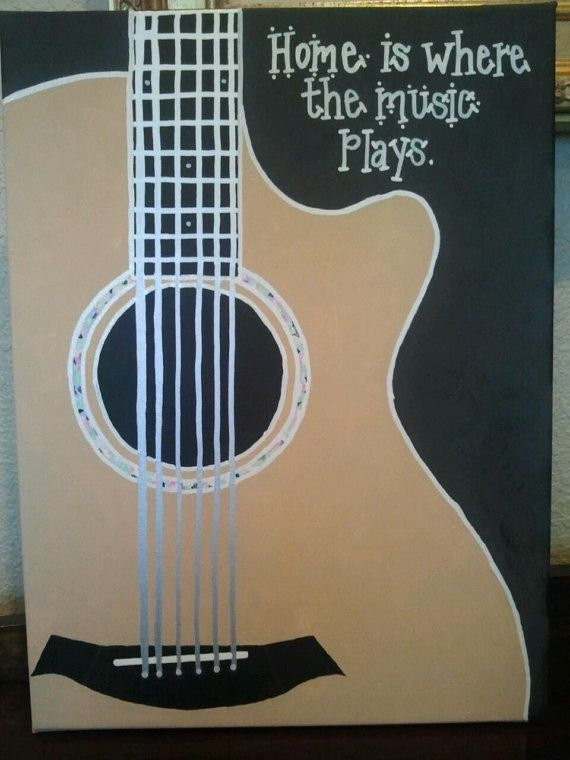 Personalized Music Art by JustABitPersonal on Etsy, $45.00