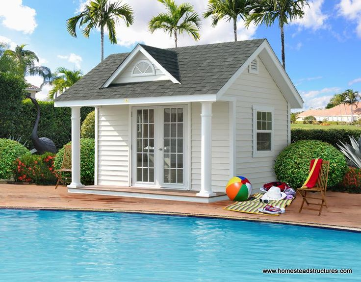 Swimming Pool Cabana Ideas love this open air pool house i need mine to be able to be closed cabana ideaspool Pool Sheds Photos Homestead Structures Cabana Ideaspool