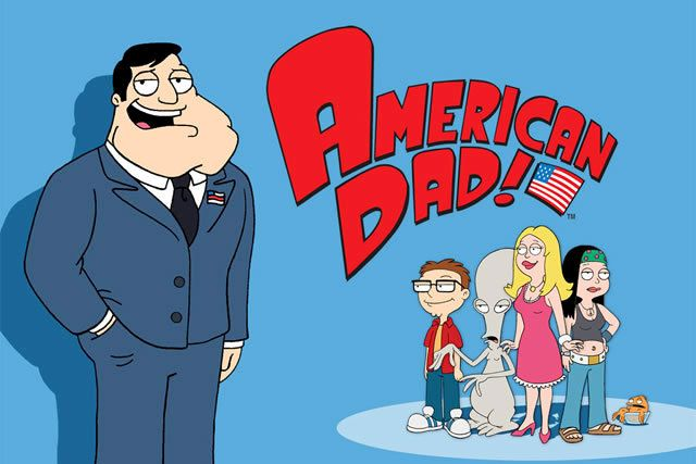 AMERICAN DAD... I want to say that my favorite comedic animated series is The Simpsons. But I don't really watch it often (I want to start with season 1, and will eventually). So this is top dog in my book.