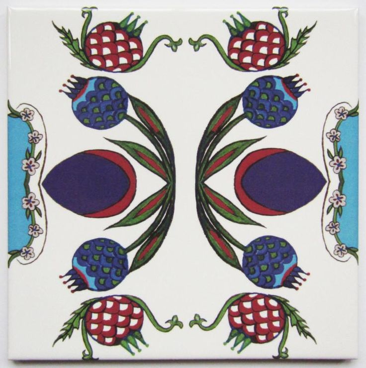 Pomegranate Tile
