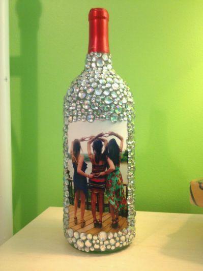 20 Wine Bottle Craft Ideas To Put Diy Crafts Wine Bottle