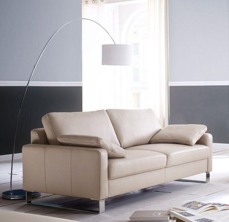 idesign 2 sitzer sofa 140 cm leder puro metallkufen modell - Fantastisch Wunderbare Dekoration 14 Sofa Aus Leder Das Symbol Von Eleganz Und Luxus