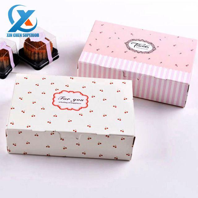 """5 개 7 """"* 4.7"""" * 2 """"패션 케이크 상자 비스킷 상자 사탕 호의 컵 케이크 상자 웨딩 축제 파티 빠른 배송"""
