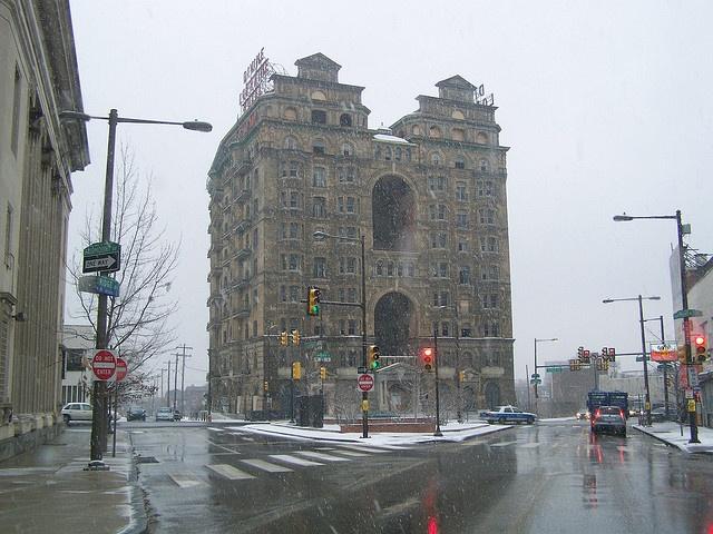 Divine Lorraine Hotel- Philadelphia PA