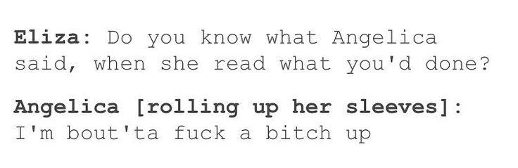 I love Angelica