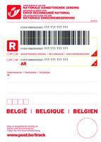 Bestelformulier etiketten, documenten en andere benodigdheden | bpost