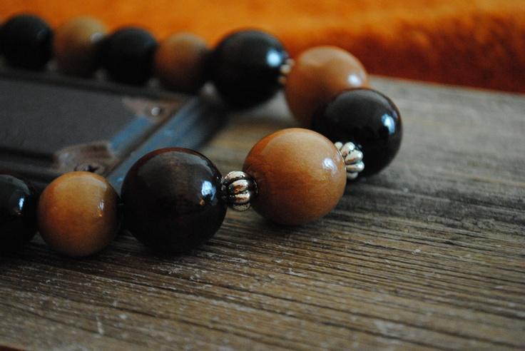 Wood Beads.