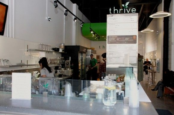 Thrive Juice Bar's key components are juice, smoothies, drinks and healthy, wholesome  and whole foods using local ingredients. #food #local