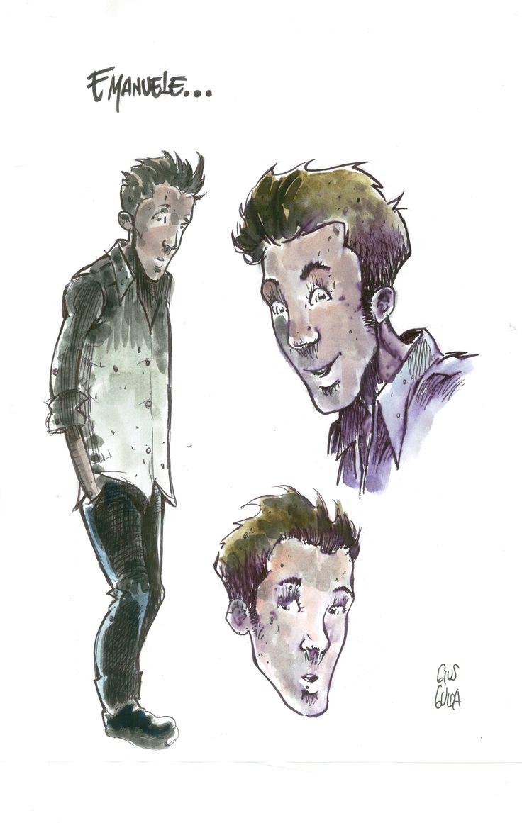 Studi Personaggio Graphic Novel