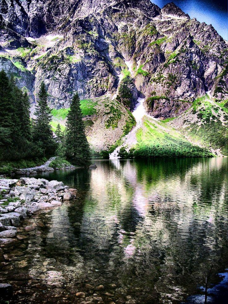 nad Morskim Okiem w Tatrach  #Tatry #Morskie #Oko #góry #Tatra #Mountains #HDR
