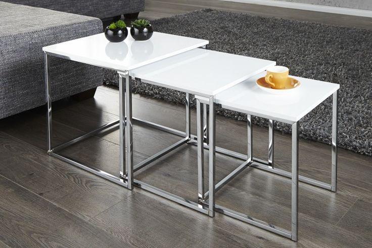 Bighome.sk - Konferenčný stolík GRACE 3set - Konferenčné stolíky - Nábytok do Obývačky - Nábytok