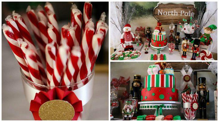 Mesas de dulces para baby shower navide o buscar con - Ideas para postres de navidad ...